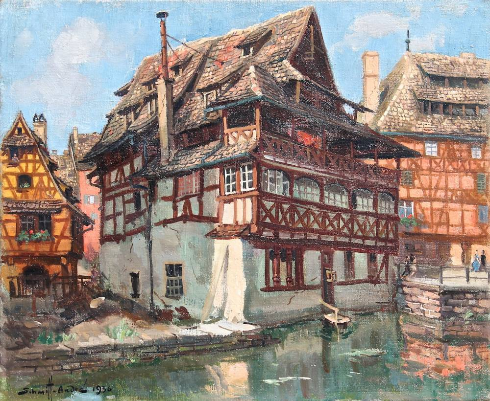 Maison des tanneurs la maison de la choucroute strasbourg for Andre maurois la maison